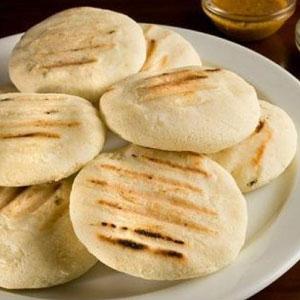 Harina PAN arepa
